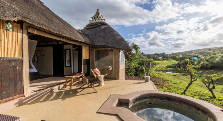 Amakhala Safari Lodge Bedroom Exterior