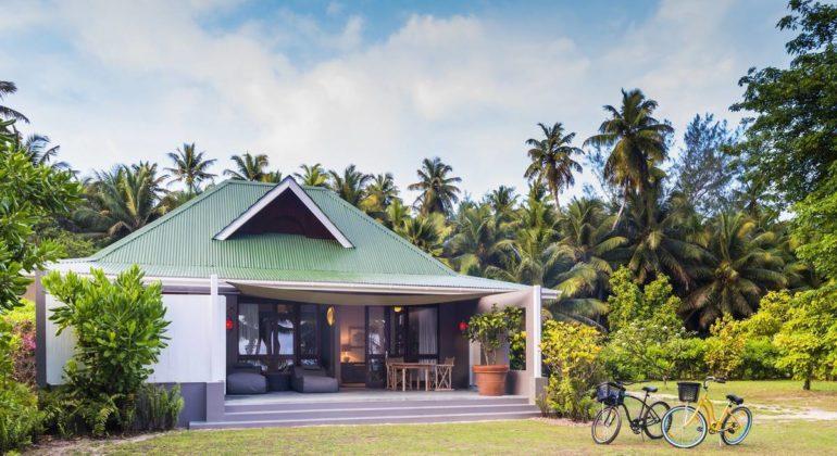Blue Safari Seychelles Beach Suite Front View