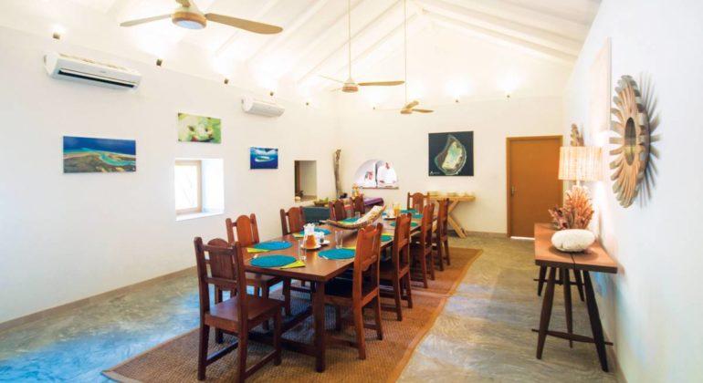 Blue Safari Seychelles Dining