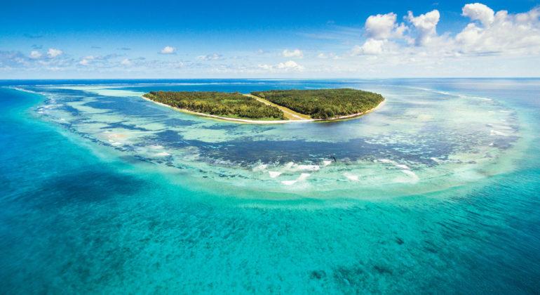 Blue Safari Seychelles Island View
