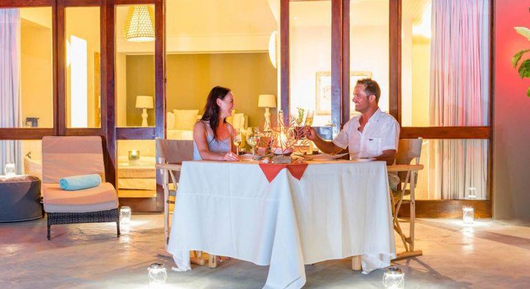 Blue Safari Seychelles Private Dining