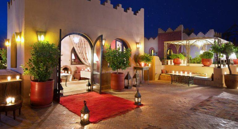 Kasbah Tamadot Suite Exterior
