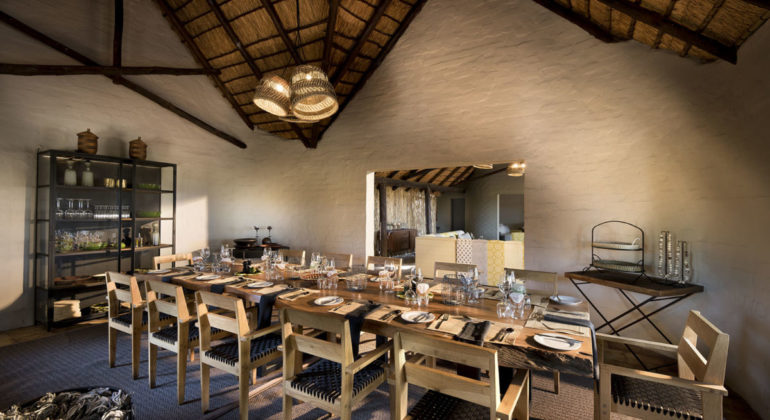 Khwai Bush Camp Dining