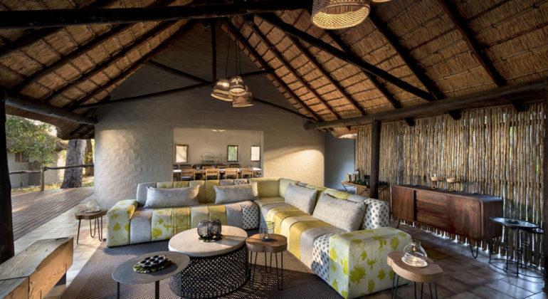 Khwai Bush Camp Lounge