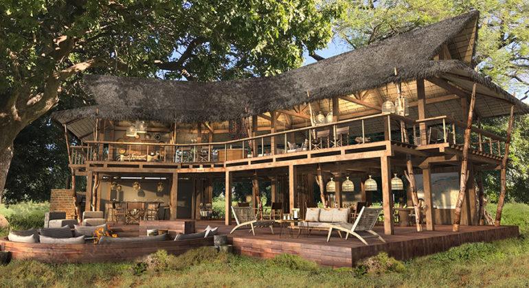 Nyamatusi Camp Main Area