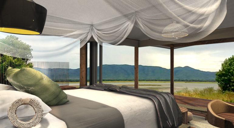 Nyamatusi Camp View From Bedroom