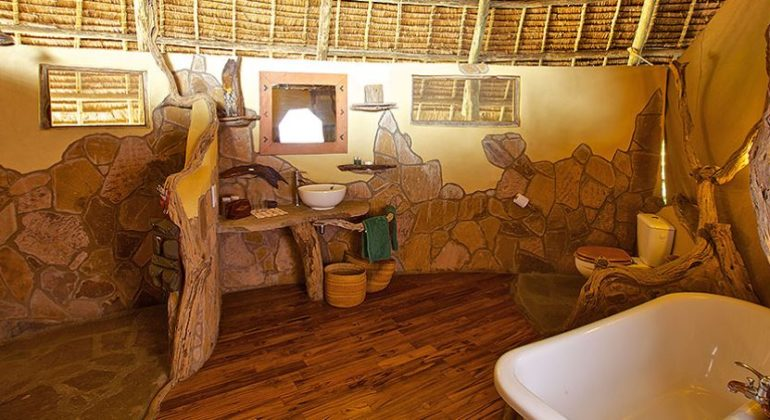 Rufiji River Camp Bathroom