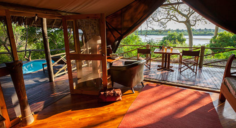 Rufiji River Camp Suite