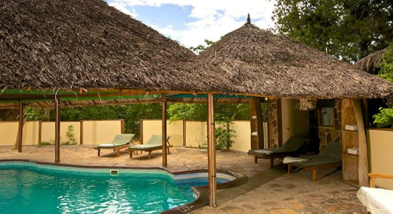 Rufiji River Camp Swimming Pool