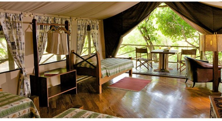 Rufiji River Camp Tent Interior