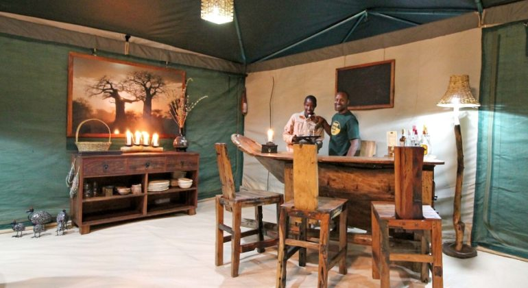Tarangire View Camp Bar