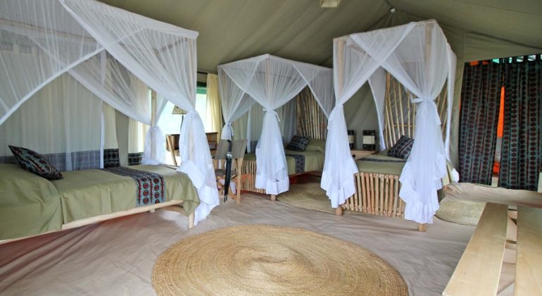 Tarangire View Camp Tent Interiors