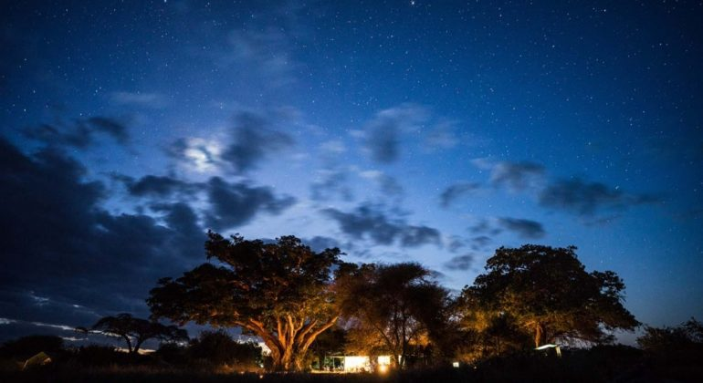Tarangire View Camp At Night