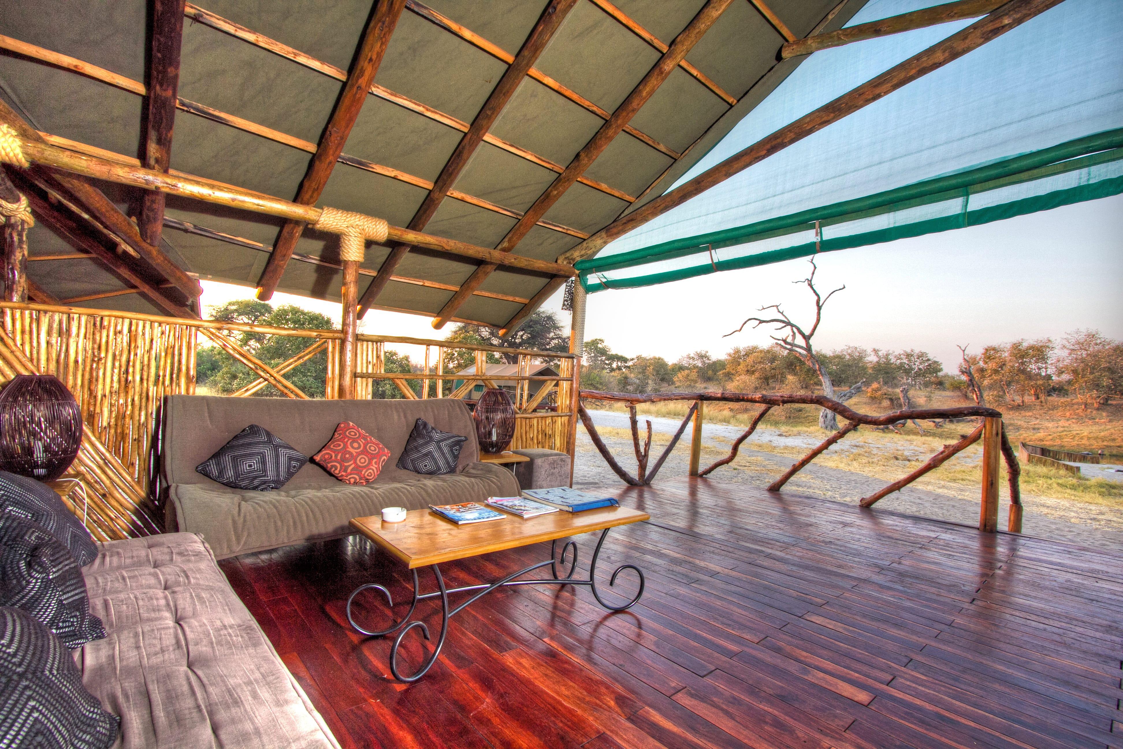 Camp Savuti Lounge