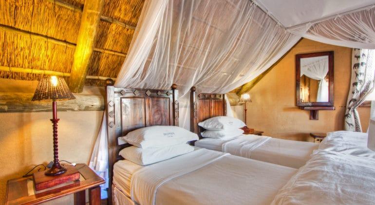 Deception Valley Lodge Bedroom