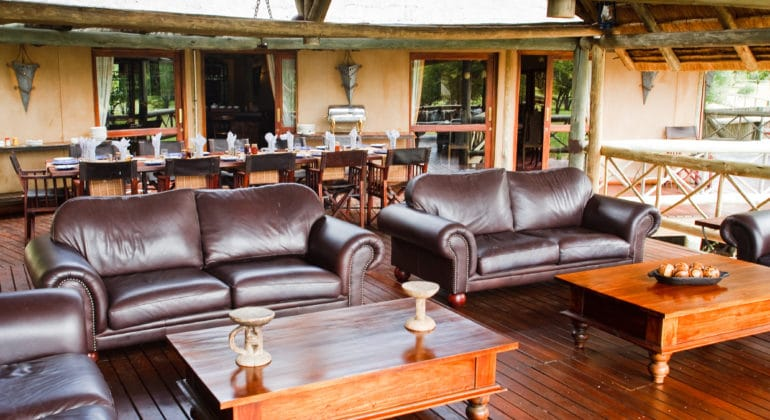 Deception Valley Lodge Lounge