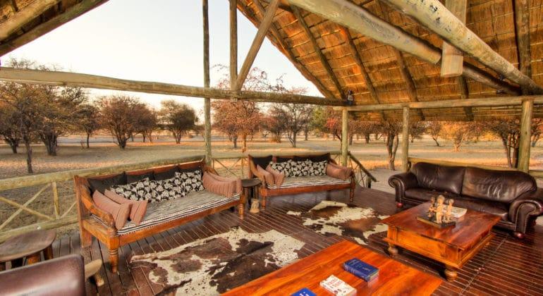 Deception Valley Lodge Main Lounge