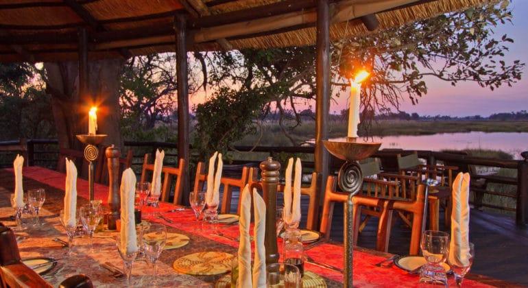 Delta Camp Dining