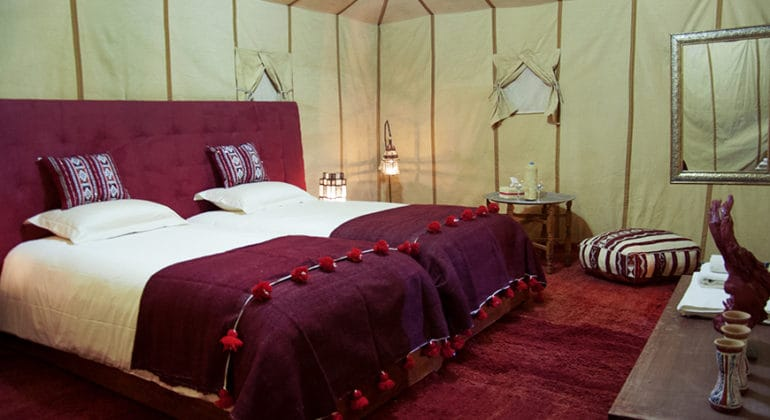 Erg Chebbi Tent Interiors