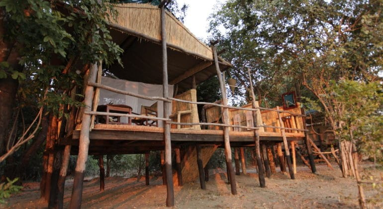 Island Bush Camp Chalet 1