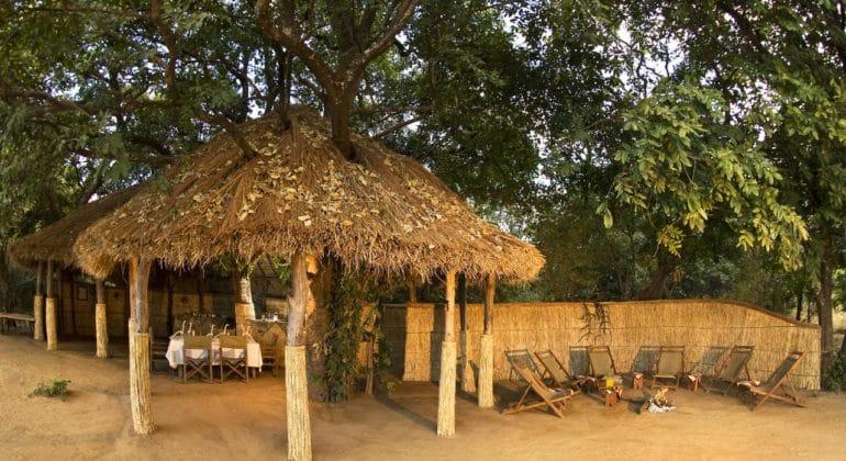 Island Bush Camp Main Area