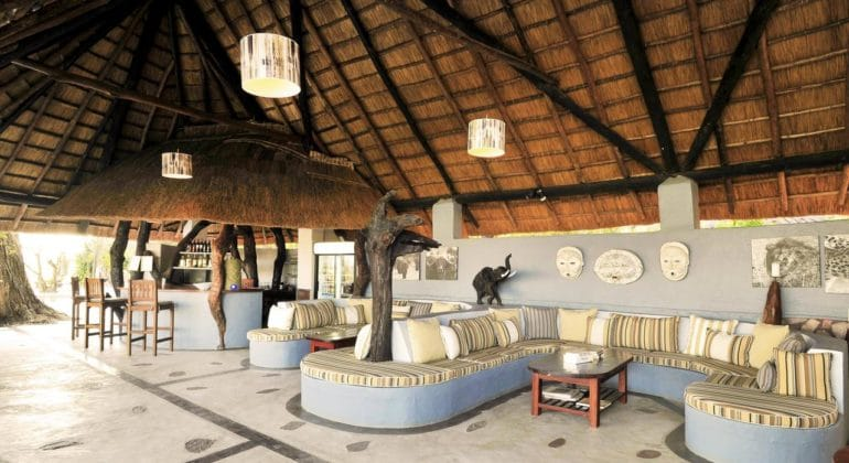 Kafunta River Lodge Bar And Lounge