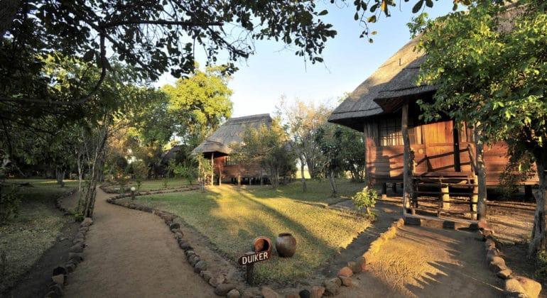 Kafunta River Lodge Chalets