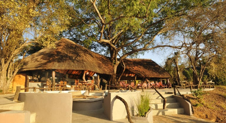 Kafunta River Lodge Lounge