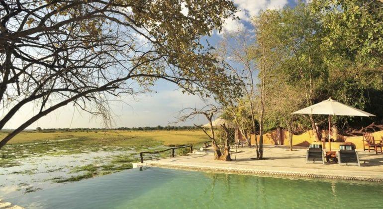 Kafunta River Lodge Pool