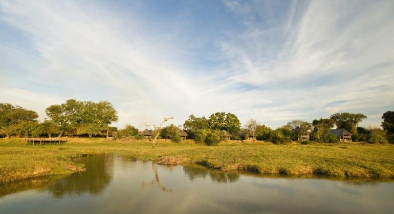Kafunta River Lodge View