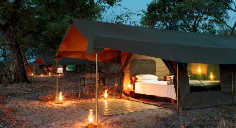 Nkonzi Camp Safari Tents