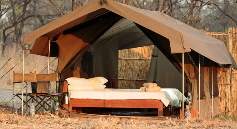 Nkozi Camp Tent