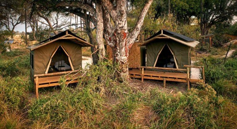 Oddballs' Camp Tents