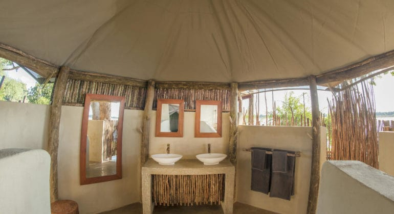 Three Rivers Camp Bathroom