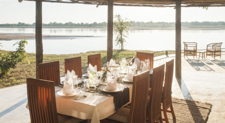 Three Rivers Camp Dining 1