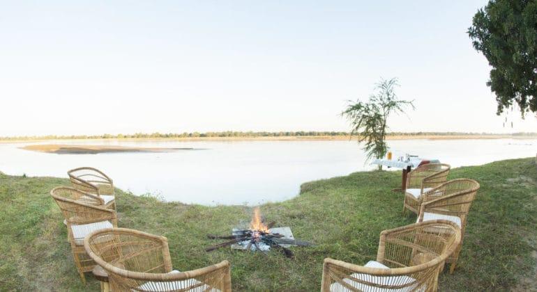 Three Rivers Camp Fireplace