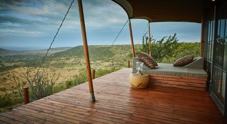 Elewana Lodo Springs Deck