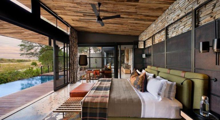 Tengile River Lodge Bedroom