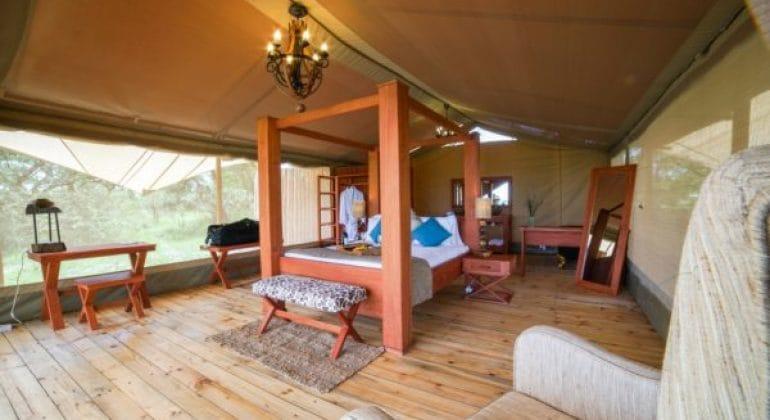Asanja Grumeti Camp Tent Interior