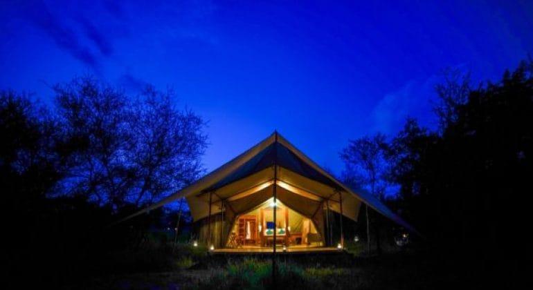 Asanja Grumeti Camp Tent View