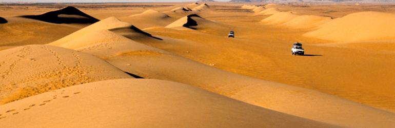 Chad Sahara Desert