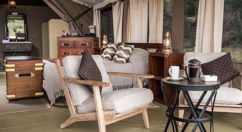 Entim Mara Tent Indoors