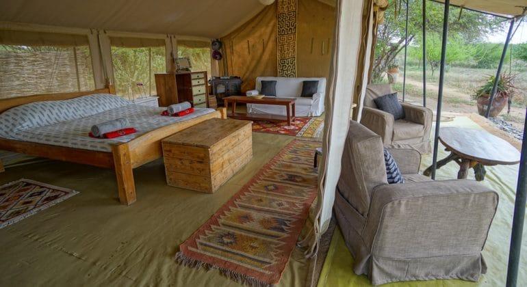 Tumaren Camp Bedroom Tent