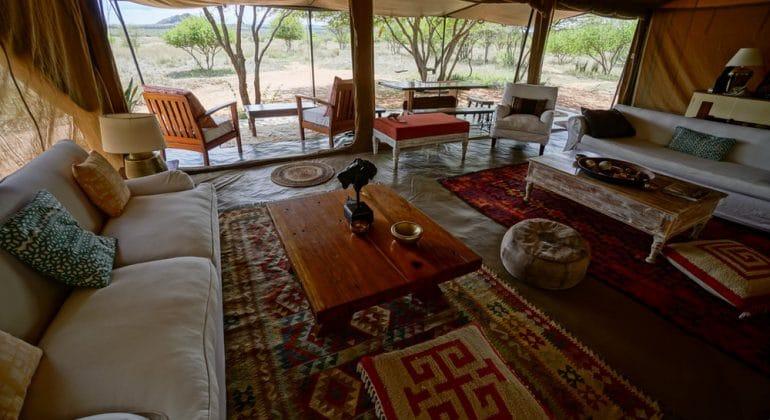 Tumaren Camp Lounge