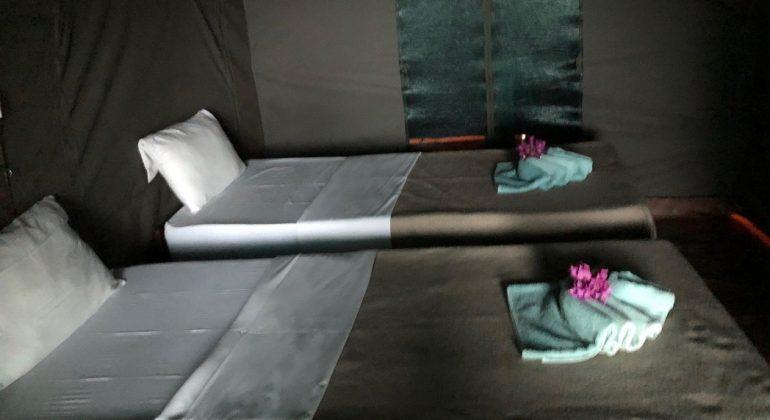 Akaka Camp Tent Rooms