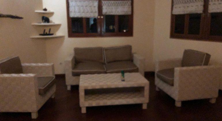 Loango Lodge Sitting Area