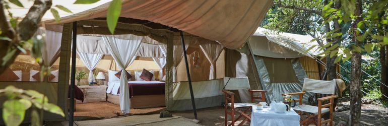 Speke's Camp