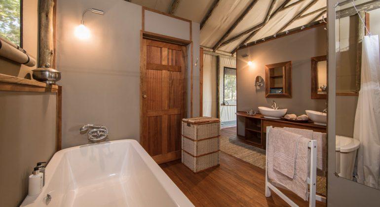 Setari Camp Bathroom