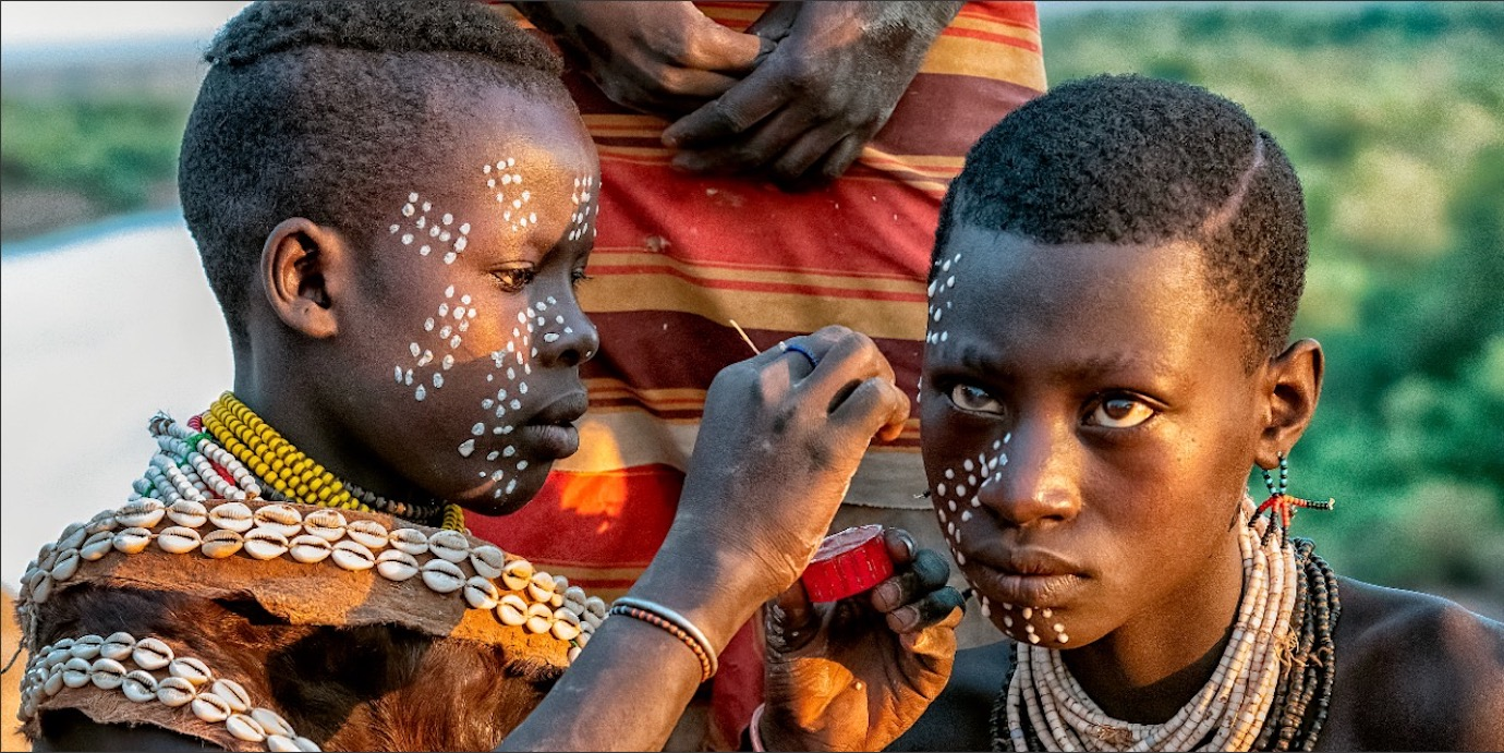 Kara Tribe Omo Valley