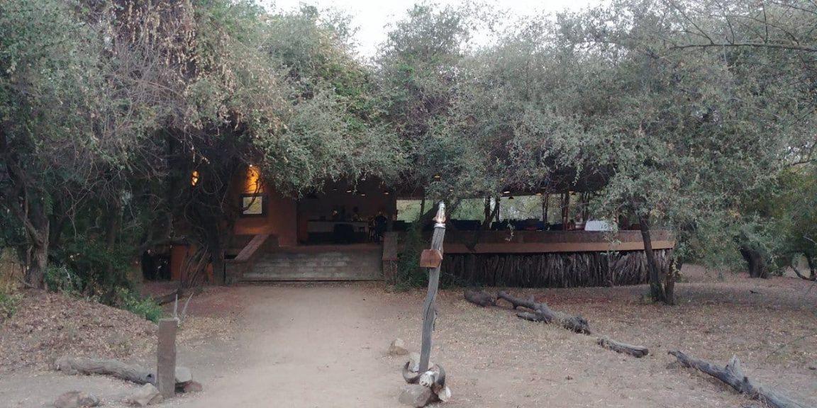 Tinga Camp Entrance Zakouma